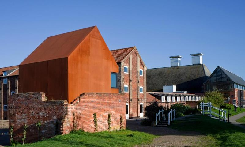 The concert hall of the Aldeburgh festival at Snape Maltings.