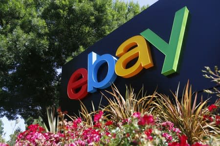 EBay beats second-quarter revenue estimates
