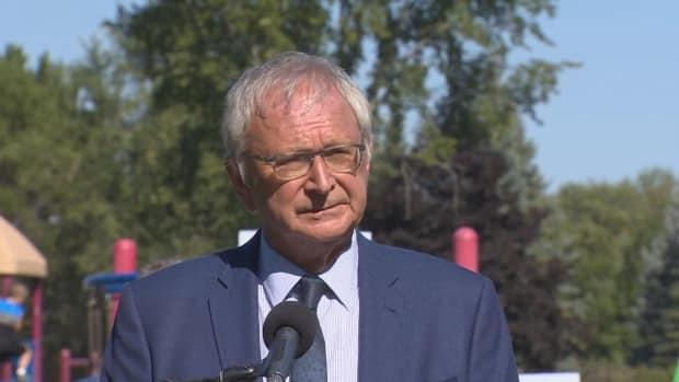 During the 2020 election, Premier Blaine Higgs said if people think he's contravening the Canada Health Act and not providing adequate access to abortion services, they can sue.