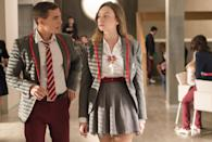 """<p>In this Netflix crime drama, three working-class teens displaced by an earthquake are enrolled in the most exclusive school in Spain, and the clash between the classes erupts into a battle that eventually turns fatal. It's like the battle between Jenny Humphrey and Blair Waldorf, but even more dramatic (if that's possible). </p> <p><strong>Where to watch: </strong><a href=""""http://www.netflix.com/title/80200942"""" class=""""link rapid-noclick-resp"""" rel=""""nofollow noopener"""" target=""""_blank"""" data-ylk=""""slk:Netflix"""">Netflix</a></p>"""