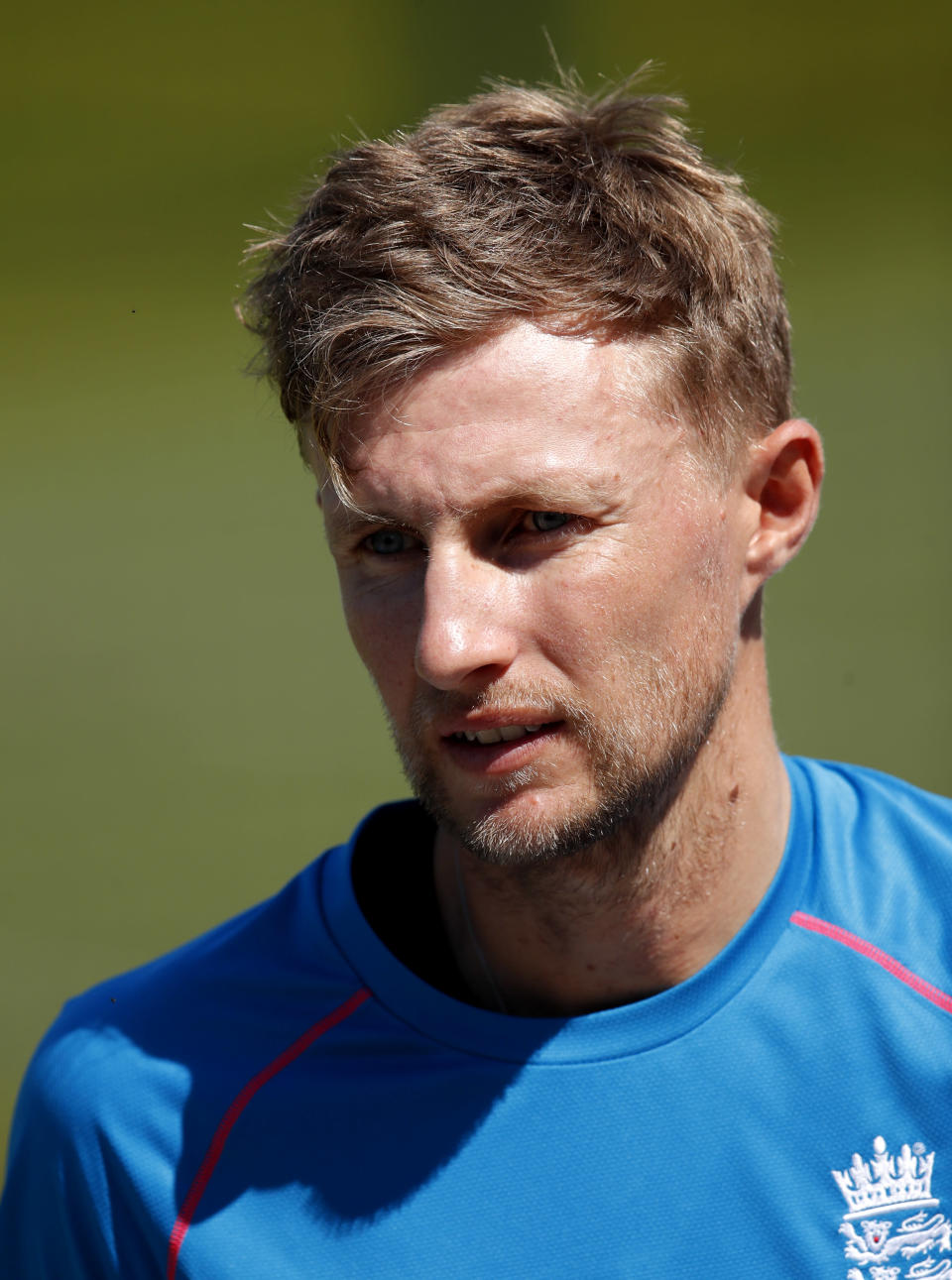 England's Joe Root during a practice session at Lord's Cricket Ground in London, Tuesday, June 1, 2021.New Zealand will play England in the first of two cricket tests here starting June 2. (AP Photo/Andy Couldridge/Pool)