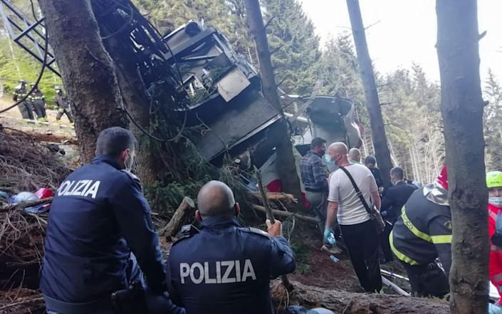Rescuers tried to save two children - HANDOUT/Polizia di Stato/AFP via Getty Images