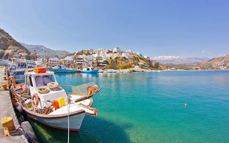 Beautiful coastline, ancient treasures and tasty cuisine make Crete an alluring island destination - copyright christophe faugere