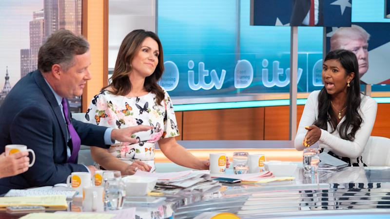 <p>The live TV clash saw both the GMB host and his guest become increasingly frustrated with each other.</p>