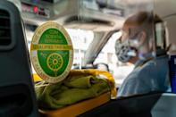 Cabbies suspect that business will not return to pre-pandemic levels as many workers will continue to work from home at least some of the time