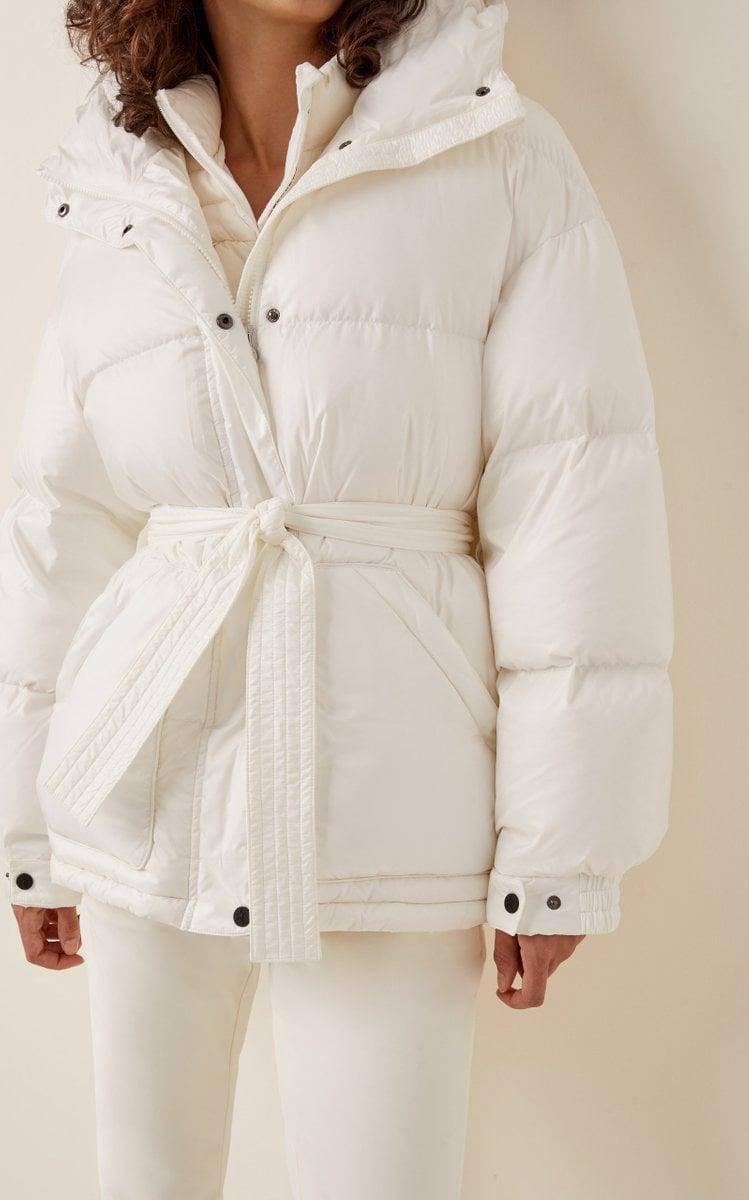 <p>This <span>Perfect Moment Oversized Belted Puffed Parka</span> ($650) is super flattering. You can also take the belt off, and have a more boxy look.</p>