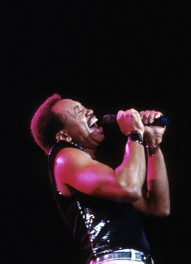 <p>Maurice White, a founding member Earth, Wind & Fire, died February 3 at age 74. — (Pictured) Maurice White performing at Radio City Music Hall in New York City in 1988. (Ebet Roberts/Redferns via Getty Images) </p>
