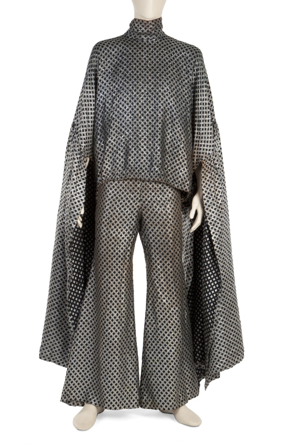 This eye-catching outfit once worn by Little Richard is among a trove of the rock pioneer's belongings going under the hammer (Julien's Auctions/PA)
