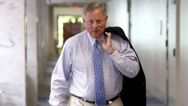 PHOTO: Committee Chairman Sen. Richard Burr arrives for a meeting of the Senate Select Committee on Intelligence on Aug. 16, 2018 in Washington, D.C. (Win McNamee/Getty Images)