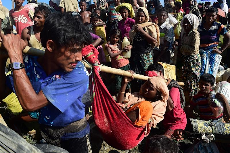 Dhaka has made clear it wants the Rohingya refugees to return to Myanmar and is in talks with the government about taking them back (AFP Photo/MUNIR UZ ZAMAN)