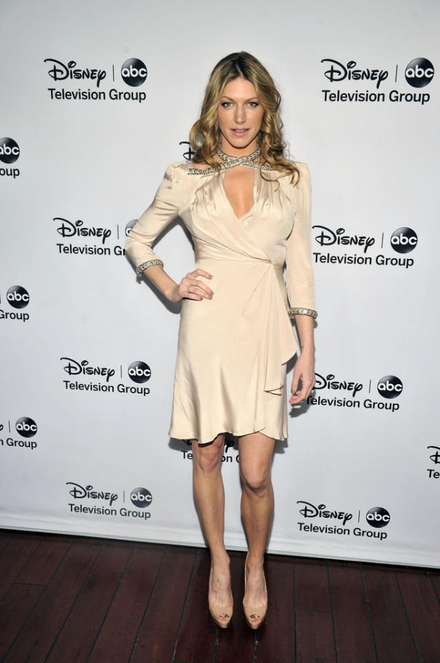 "Jes Macallen (""Mistresses"") attends the Disney ABC Television Group 2013 TCA Winter Press Tour at The Langham Huntington Hotel and Spa on January 10, 2013 in Pasadena, California."