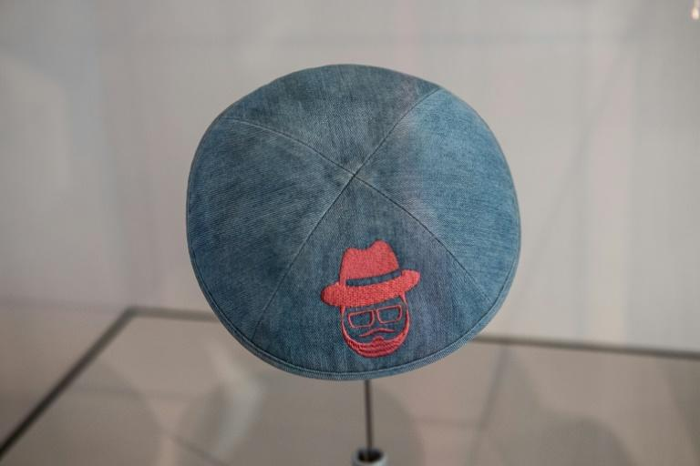 The kippa worn by a young man when attacked in April allegedly by a 19-year-old Syrian refugee was put on display at the Jewish Museum in Berlin