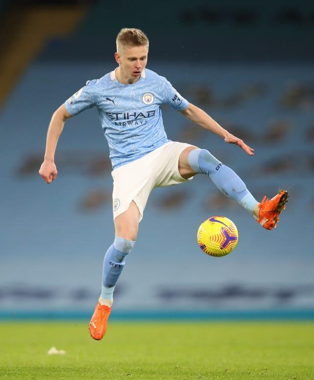Oleksandr Zinchenko has played an important part in City's run to the final