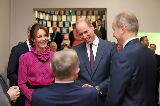 The duke said his family would be committed to the friendship between the nations. (Department of Foreign Affairs and the British Embassy)