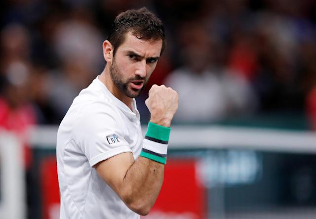 <p>Born 28 September 1988 (age 30) in Medjugorje, Bosnia-Herzegovina (plays for Croatia)<br>198cm (6ft 6in)<br>2018 record: 41-18 (69.5%)<br>Career high: No.3<br>One Grand Slam singles title, 18 career titles in total<br>Started playing tennis with his older brother Vinko<br>Twitter followers: 162k<br>Instagram: 159k<br>Fun fact: Can speak English, Croatian, Italian, French, German<br>(Photo source: Reuters) </p>