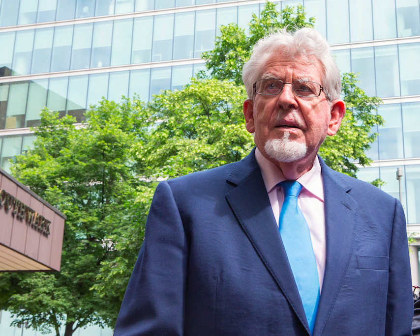 Disgraced entertainer Rolf Harris was jailed in 2014.