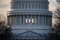 <p> The U.S. Capitol is seen as Congress and President Donald Trump move closer to a deadline to fund parts of the government, in Washington, Wednesday, Dec. 19, 2018. (AP Photo/J. Scott Applewhite) </p>