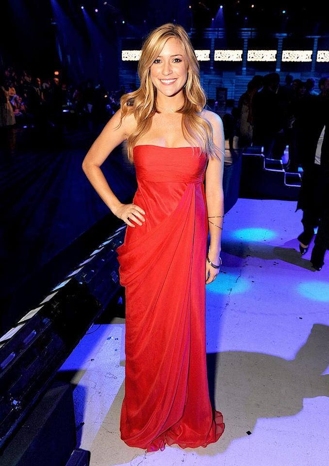 "Lauren Conrad may be the one with the hit show, but her former BFF and ""Laguna Beach"" costar Kristin Cavallari has never disappointed when dressing up. Jordan Strauss/<a href=""http://www.wireimage.com"" target=""new"">WireImage.com</a> - September 25, 2008"