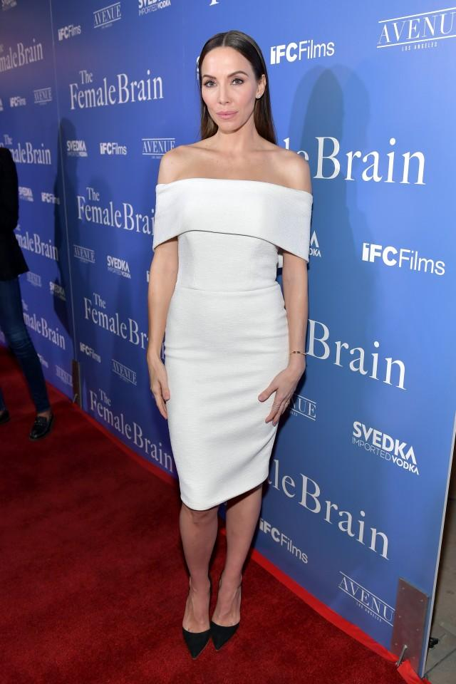 Whitney Cummings at 'The Female Brain' premiere