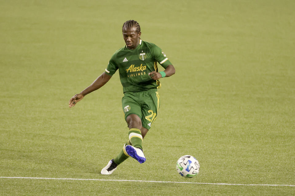 A Minnesota United player allegedly directed a racist phrase at Timbers' Diego Chara last month. (Soobum Im/Getty Images)