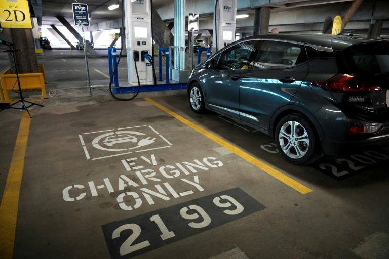 Electric car sales account for only two percent of the overall US market, compared with 10 percent in Europe