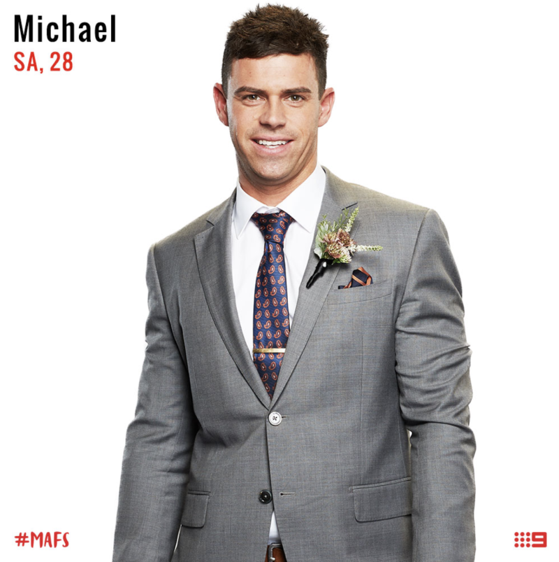 channel nine MAFS groom michael