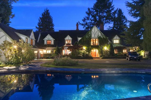 <p>No. 3: <span>4351 Erwin Drive, West Vancouver, B.C.</span><br> List price: $42,000,000<br> An English mansion in Vancouver, this home took the top spot in our spring ranking of expensive residences. This home has 150 feet of private beach, seven bedrooms (including two guest suites), pool, spa, beachside firepit and much more. (Photo: Malcolm Hasman) </p>