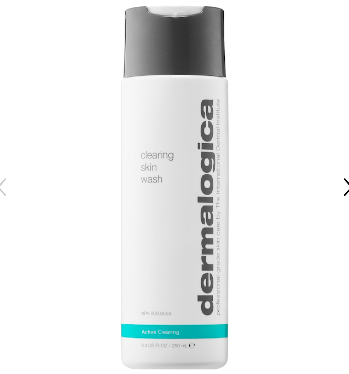 "<p><strong>Dermalogica</strong></p><p><strong>$39.00</strong></p><p><a href=""https://go.redirectingat.com?id=74968X1596630&url=https%3A%2F%2Fwww.sephora.com%2Fproduct%2Fclearing-skin-wash-P445832&sref=https%3A%2F%2Fwww.marieclaire.com%2Fbeauty%2Fg36066009%2Fbest-face-washes-for-acne%2F"" rel=""nofollow noopener"" target=""_blank"" data-ylk=""slk:SHOP IT"" class=""link rapid-noclick-resp"">SHOP IT </a></p><p>This gel-based cleanser is super gentle but still manages to clear breakouts and smooth rough texture without drying out your skin or causing irritation. Salicylic acid, green tea, tea tree, zinc, and menthol work together to simultaneously exfoliate and calm inflammation over time. </p>"