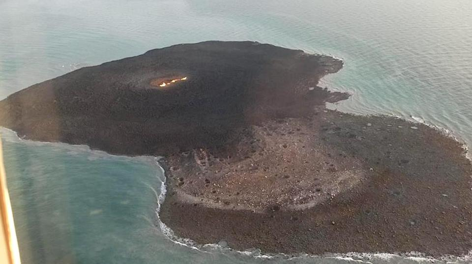 Mud/volcano/Ministry of Emergency Situations of the Republic of Azerbaijan