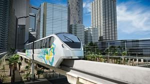 INNOVIA monorail 300 system coming soon to Cairo.