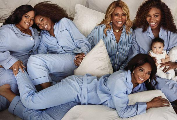 PHOTO: Mario Testino photographed Serena Williams with her daughter and others for Vogue magazine. (Courtesy Vogue/Mario Testino )