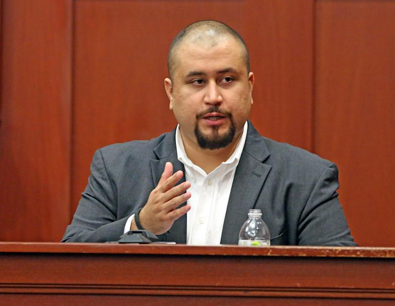 George Zimmerman, seen in 2016, has filed a lawsuit against the family of Trayvon Martin and others that seeks $100 million in damages. (Photo: Red Huber/Orlando Sentinel via Getty Images)