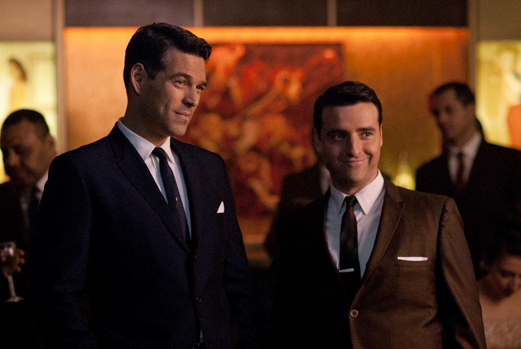 """From Academy Award-winning executive producer Brian Grazer, """"<a href=""""/playboy-club/show/47390"""">The Playboy Club</a>"""" is a provocative new drama about a time and place that challenged the social mores, where a visionary entrepreneur created an empire and an icon changed American culture. It's the early '60s, and the legendary Playboy Club in Chicago is the door to all of your fantasies — and the key is the most sought-after status symbol of its kind. Inside the seductive world of the bunny, the epitome of beauty and service, the clientele rubs shoulders with the decade's biggest mobsters, politicos, and entertainers. <a href=""""/playboy-club/show/47390"""">Airs Mondays this fall at 10pm ET on NBC</a>"""