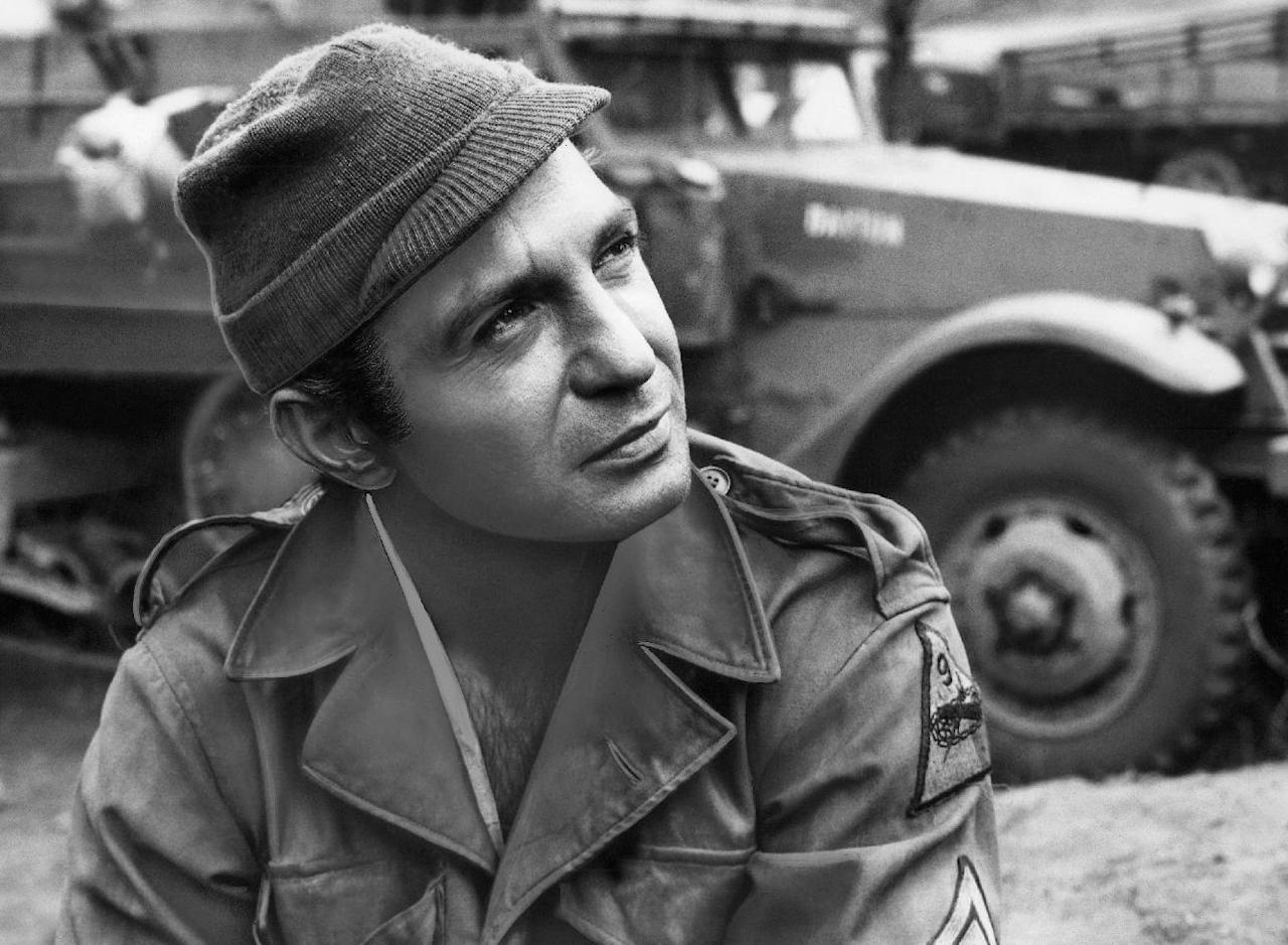 "FILE - In this 1968 file photo originally released by United Artists, actor Ben Gazzara portrays Sgt. Angelo in a scene from ""The Bridge at Remagen."" Gazzara, whose powerful dramatic performances brought an intensity to a variety of roles and made him a memorable presence in films, on television and on Broadway in the original ""Cat on a Hot Tin Roof,"" has died at age 81. Longtime family friend Suzanne Mados said Gazzara died Friday, Feb. 3, 2012, in Manhattan after being in hospice care with cancer. (AP Photo/United Artists, file)"