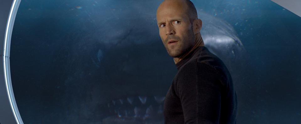Statham in The Meg (Credit: Warner Bros)
