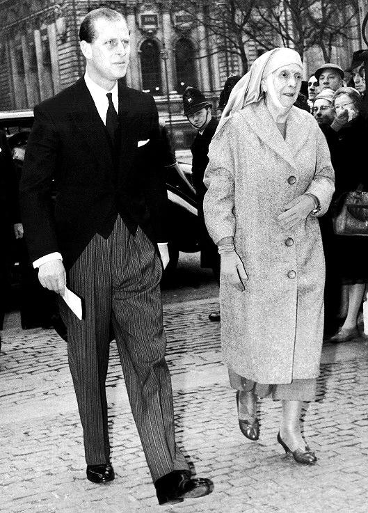 Prince Philip and his mother Princess Alice | Keystone-France/Gamma-Keystone via Getty