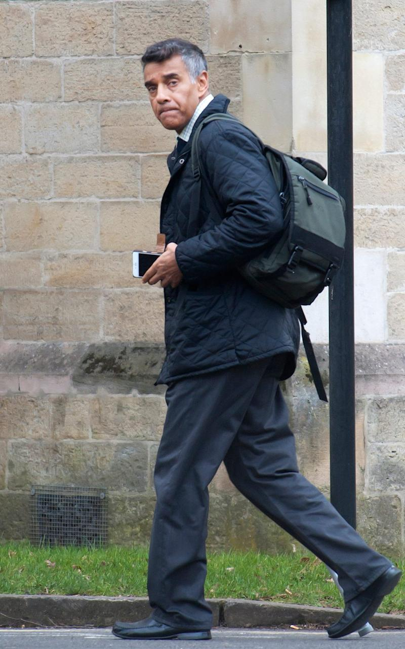 John De'Viana leaving Snaresbrook Crown Court - Credit: Central News/Gustavo Valiente
