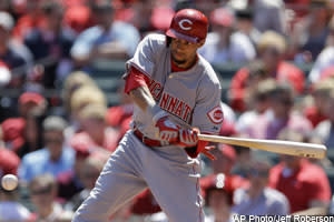 Nate Grimm discusses Billy Hamilton's sprained knuckles, Roenis Elias' 10-strikeout day and Chris Johnson's contract extension in Friday's Daily Dose
