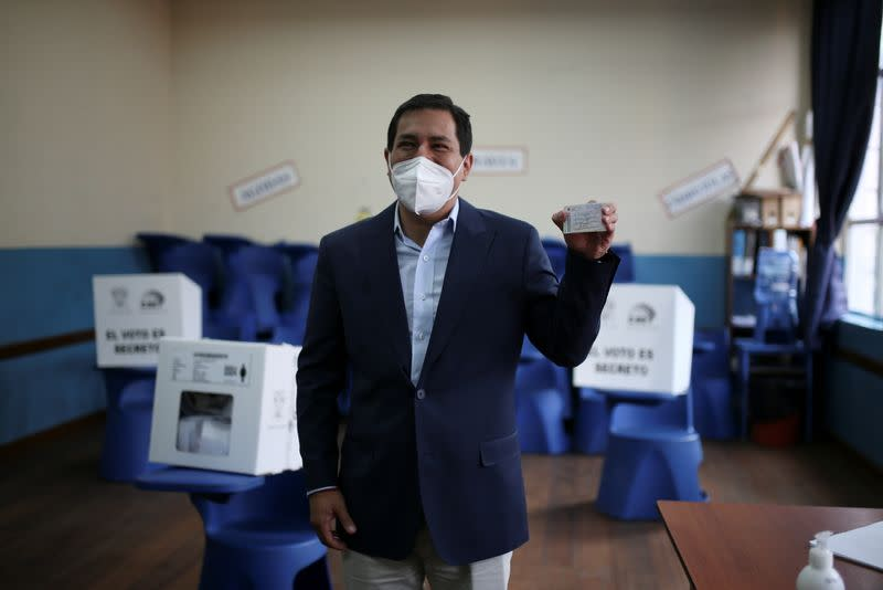 Second round of presidential election in Ecuador