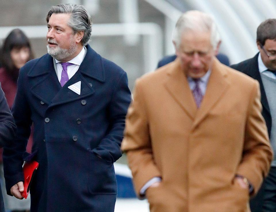 Michael Fawcett, former valet to Prince Charles