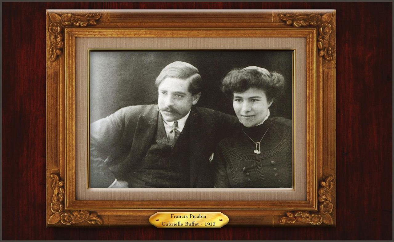 <p>Schiaparelli met Surrealist artist Francis Picabia and his wife Gabrielle onboard a transatlantic ship in 1916. Her friendship with Gabrielle allowed her to meet and form connections with other artists. After the death of her lover, opera singer Mario Laurenti, she left New York for France in 1922 with the Picabias. </p>