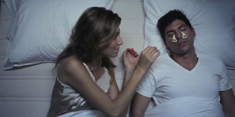 Crowdfunded smartpatch promises to silence snoring partners
