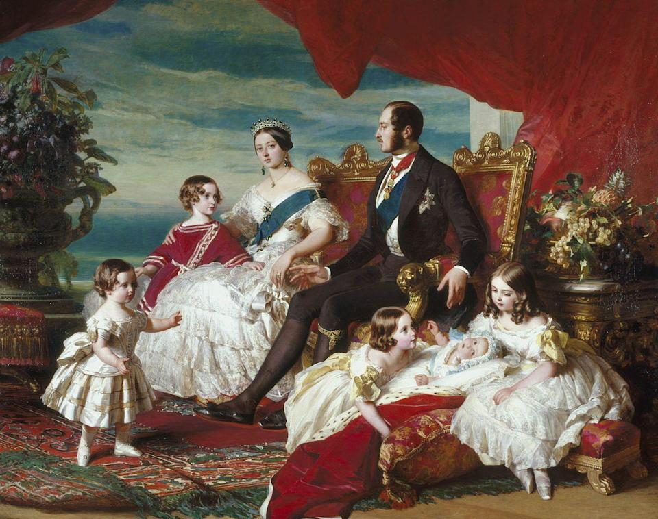 Photo credit: Franz Winterhalter/The Royal Collection Trust