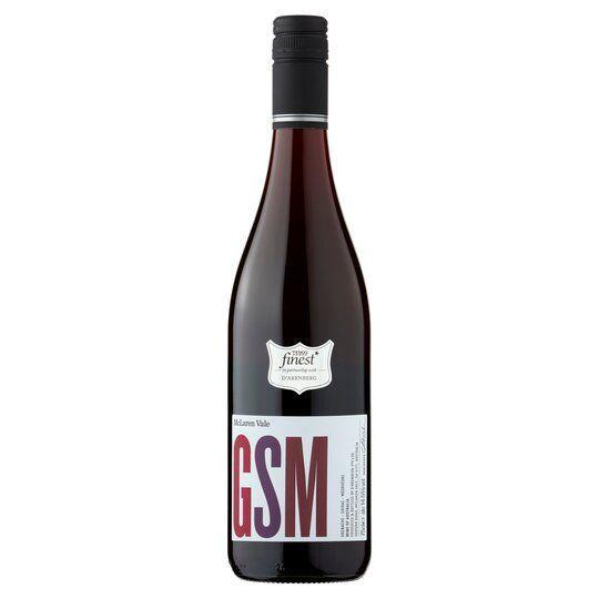 """<p>Grenache, Shiraz and Mourvedre. The three full-bodied grapes that make up this delicious red. </p><p>Produced in one of oldest wine growing regions in Australia, this wine has a clove and pepper spiciness and ripe dark berry fruitiness. </p><p>Best served with barbecued or grilled meats. </p><p><a class=""""link rapid-noclick-resp"""" href=""""https://go.redirectingat.com?id=127X1599956&url=https%3A%2F%2Fwww.tesco.com%2Fgroceries%2Fen-GB%2Fproducts%2F296546080%3FselectedUrl%3Dhttps%253A%252F%252Fdigitalcontent.api.tesco.com%252Fv2%252Fmedia%252Fghs%252F196dd0fa-346a-48bf-8b01-c4d8e4cd61af%252Fsnapshotimagehandler_1648916278.jpeg%253Fh%253D540%2526w%253D540&sref=https%3A%2F%2Fwww.delish.com%2Fuk%2Fcocktails-drinks%2Fg36093038%2Ftesco-wine%2F"""" rel=""""nofollow noopener"""" target=""""_blank"""" data-ylk=""""slk:BUY NOW"""">BUY NOW</a></p>"""