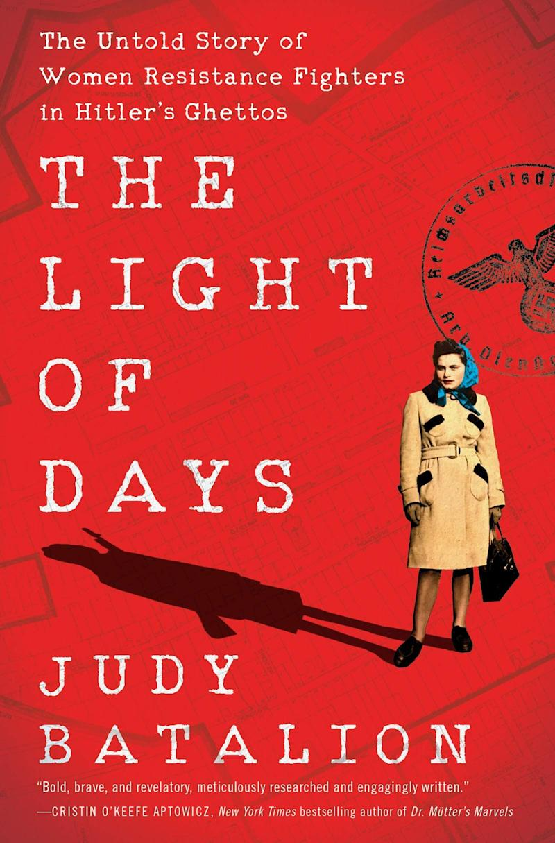 """Judy Batalion &mdash; the granddaughter of Polish Holocaust survivors &mdash; tells the relatively unknown story of a brave group of Jewish women who became resistance fighters during WWII. Batalion&rsquo;s riveting book tells the story of the &ldquo;ghetto girls&rdquo; who &ldquo;flirted with German soldiers, bribed them with wine, whiskey, and home cooking, used their Aryan looks to seduce them, and shot and killed them. They bombed German train lines and blew up a town&rsquo;s water supply. They also nursed the sick and taught children.&rdquo; &ldquo;The Light of Days&rdquo; also includes 20 black and white historical photos. Read more about it on <a href=""""https://www.goodreads.com/book/show/52090762-the-light-of-days"""" target=""""_blank"""" rel=""""noopener noreferrer"""">Goodreads</a>, and grab a copy on <a href=""""https://amzn.to/3gIWl6l"""" target=""""_blank"""" rel=""""noopener noreferrer"""">Amazon</a>.<br /><br /><i>Expected release date: June 23</i>"""