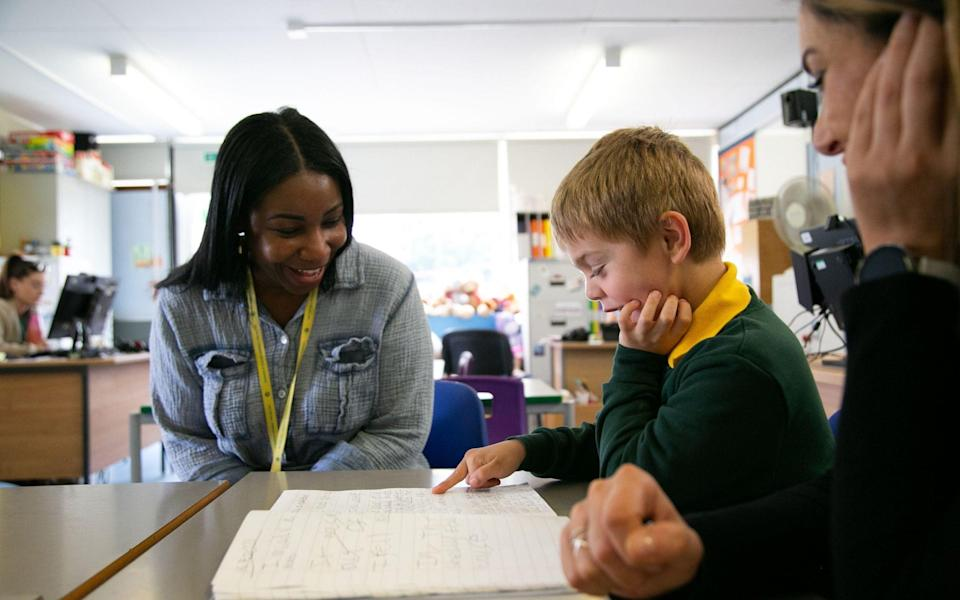 With school exclusions at their highest in 10 years behaviour expert Marie Gentles visits Milton Hall Primary School - BBC TWO