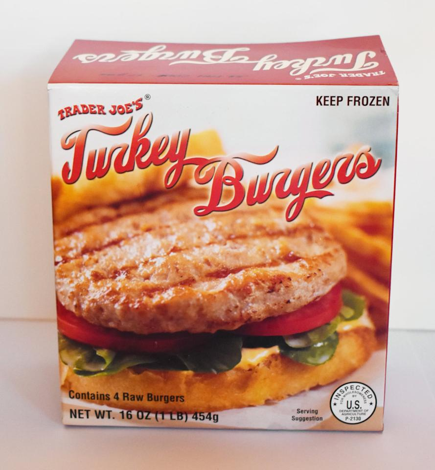 """<p>These flavorful, protein-packed patties give you the juicy taste of a day of grilling - minus the sweating over the grill. Lay them on a bun or lettuce wrap for a dinner fit for a queen. These <a href=""""https://whitneybond.com/bruschetta-turkey-burger-recipe/"""" target=""""_blank"""" class=""""ga-track"""" data-ga-category=""""Related"""" data-ga-label=""""https://whitneybond.com/bruschetta-turkey-burger-recipe/"""" data-ga-action=""""In-Line Links"""">tomato basil bruschetta</a>, <a href=""""https://www.cookingclassy.com/turkey-burgers/"""" target=""""_blank"""" class=""""ga-track"""" data-ga-category=""""Related"""" data-ga-label=""""https://www.cookingclassy.com/turkey-burgers/"""" data-ga-action=""""In-Line Links"""">classic</a>, and <a href=""""https://www.lemonsforlulu.com/aloha-turkey-burger/"""" target=""""_blank"""" class=""""ga-track"""" data-ga-category=""""Related"""" data-ga-label=""""https://www.lemonsforlulu.com/aloha-turkey-burger/"""" data-ga-action=""""In-Line Links"""">Aloha</a> turkey burgers all sound like pretty great ideas.</p>"""