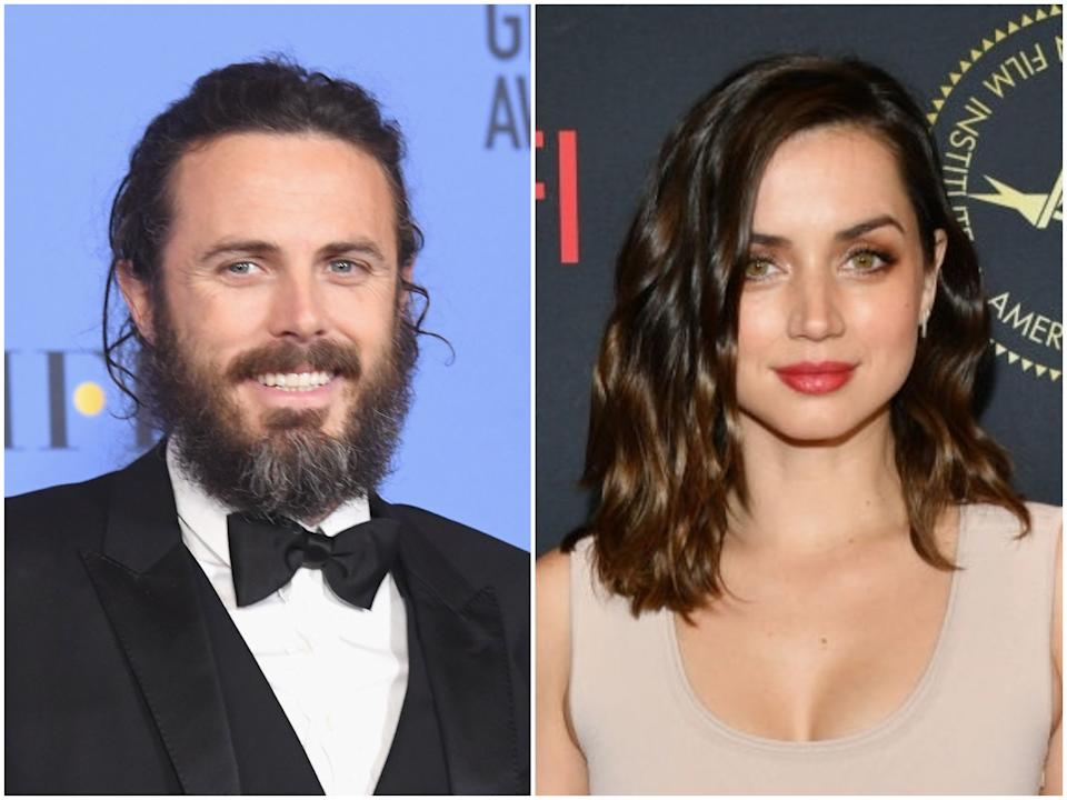 Actors Casey Affleck and Ana de Armas (Kevin Winter/Amy Sussman/Getty Images)