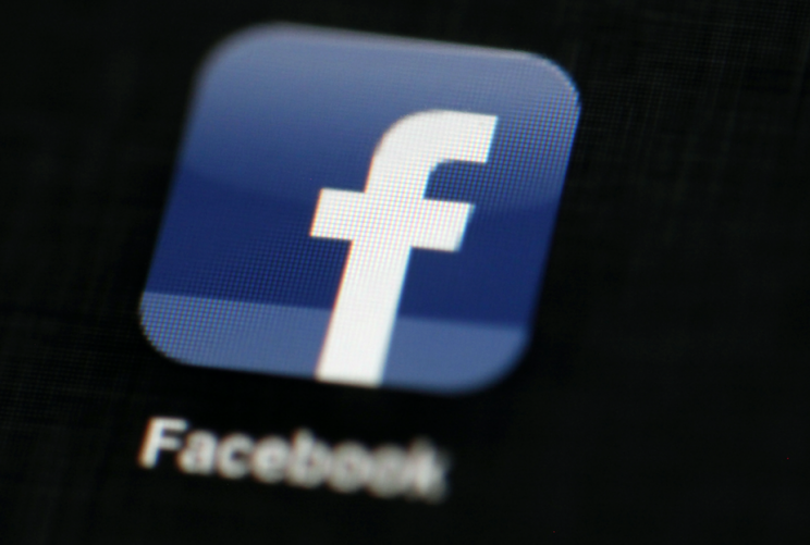 Facebook removed the video after their press office was contacted (Rex)
