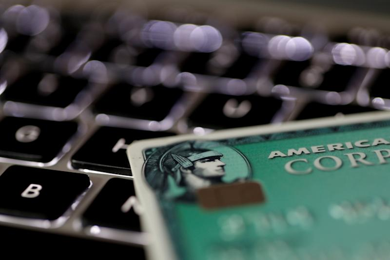Small businesses get lower american express fees an american express credit card is seen on a computer keyboard in this picture illustration taken september 6 2017 reutersphilippe wojazerillustration reheart Gallery